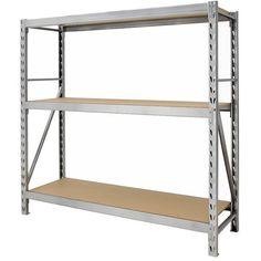 Gorilla Rack Gr7300 S23 3 Shelf 77 By 24