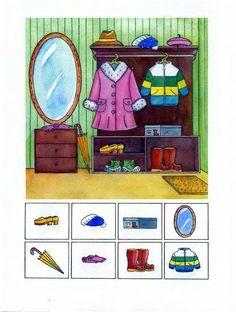 Autismus Arbeitsmaterial: Aufmerksamkeit: finde