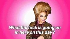 The perfect Rpdr WhatTheFuckIsGoingOn DragQueen Animated GIF for your conversation. Discover and Share the best GIFs on Tenor. Drag Racing Quotes, Rupaul Drag Queen, Alyssa Edwards, Trixie And Katya, Look Girl, Celebrity Dads, Meme Faces, Reaction Pictures, To Youtube
