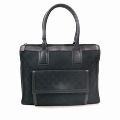 eee23866f1a Shop Handbags in Vintage-Junktion s closet on Tradesy Black Leather Tote