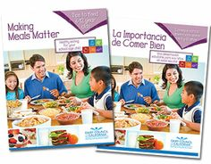 Making Meals Matter Booklet for School-Age Child. An 8-page booklet for parents of kids  6 to 12 years old. Perfect for health and wellness professionals and schools to teach families about the importance of balanced meals. Includes the 5 food groups from MyPlate and ideas for how busy families can prepare healthy, fast meals. Available free in California and for a nominal cost out of state.
