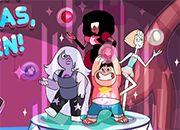Steven Universe Explota burbujas
