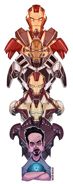 Iron Man 3 - Hazen Becker