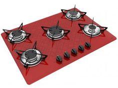 Cooktop 5 Bocas Casavitra Excellence Tetris - a Gás Acendimento Superautomático