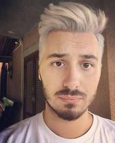 🔥🔥🔥🐲 #hairspiration #instamood #instapic #igers #love #followme #tbt #hair #beard #boy #guy #silverhair #me #selfie #feelings #like4like #italy #targaryen #hbo