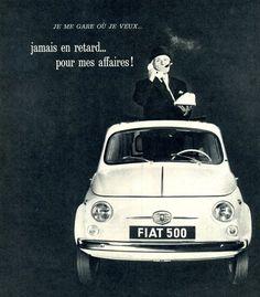 Fiat 500 #advertising #fiat500