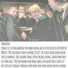 I'd slap him after class is he said that in History if Magic. Sorry Tom Felton aka Draco Malfoy Draco Malfoy Imagines, Harry Potter Imagines, Harry Potter Jokes, Harry Potter Fandom, Draco Malfoy Quotes, Hermione Granger, Draco And Hermione, Harry Potter Draco Malfoy, Severus Snape