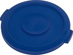 #Storage  This #Carlisle 34102114 Bronco blue polyethylene waste container lid is suitable for use with a Carlisle 34102014 20-gal. waste container (sold separat...