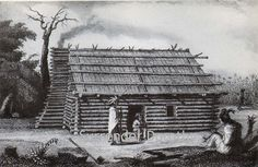 Creek House Native People Photogravure, via Flickr.