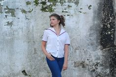 Rhapsody sailor top by Troll2Treasure on Etsy