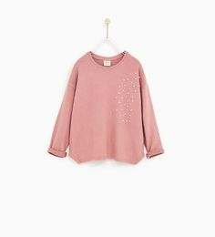 SPECIAL QUALITY T-SHIRT WITH FAUX PEARLS - Available in more colours