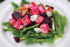 Grilled Chicken with Pear and Beet Salad -  Approx. 400 Calories #u_weight_loss