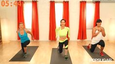Because everyone has 5 minutes to spare in a day... Slimmer, Stronger, Longer: 5-Minute Leg Workout