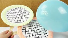 Pappteller-Tennisschläger basteln, keine Langeweile mehr beim Grillfest