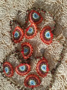 Fantastic hand knitting accessory for hair, as belt , for curtain Knitting Accessories, Hand Knitting, Christmas Wreaths, Belt, Holiday Decor, Hair, Belts, Strengthen Hair