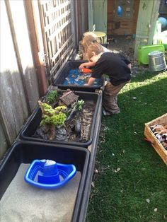 Backyard ideas for kids 00032 Hinterhofideen für Kinder 00032 Outdoor Play Spaces, Kids Outdoor Play, Kids Play Area, Outdoor Learning, Backyard For Kids, Outdoor Fun, Backyard Games, Outdoor Games, Sensory Garden