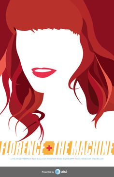 Florence + the Machine, Live on Letterman Poster