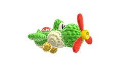 Plane Yoshi - Yoshi's Woolly World