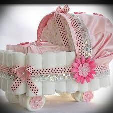 Image result for castle diaper cake