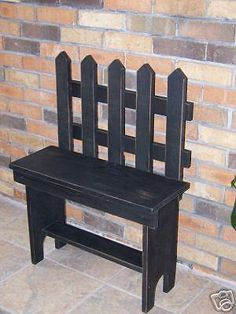 Wood Profits - Wooden Creations WC 676 Picket Bench wood furniture pattern - Discover How You Can Start A Woodworking Business From Home Easily in 7 Days With NO Capital Needed! Primitive Furniture, Primitive Crafts, Wood Furniture, Woodworking Patterns, Woodworking Bench, Woodworking Projects, Youtube Woodworking, Woodworking Classes, Woodworking Shop