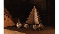 3D Stainless Steel Christmas Tree Decoration Set of 3 - Christmas
