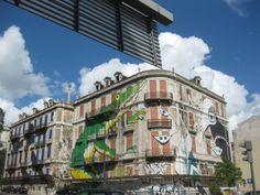 street art in lisboa: vecchi palazzi, vestiti nuovi