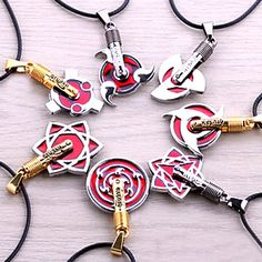 These Naruto accessories are available in seven different Sharingan designs and create an excellent gift idea for the stylish ninja.