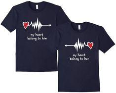 Couple set t-shirt I Am His Her Misssing by SayYouLoveMeGifts ... f695f6c0ef0