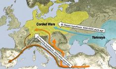 The origins of modern Europeans: DNA reveals Yamnaya people of Russian grasslands 'invaded' central Europe 4,500 years ago | Daily Mail Online