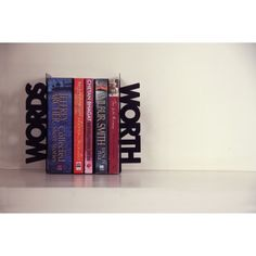 Wordsworth bookends <3