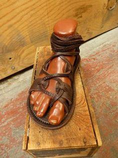 Women's Gladiator Sandals / Handmade Sandal by TreadLightGear