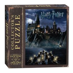 "World of Harry Potter Puzzle Relive the magic of seeing Hogwarts School of Witchcraft and Wizardry for the first time, while putting together this 550-piece puzzle. Ages 12+ Players 1+ Game Includes 550 Pieces, 18"" x 24"" Finished Size"