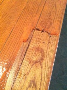 how to strip and re-stain wood furniture