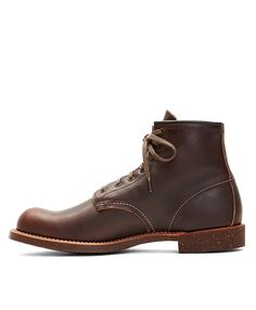Red Wing for Brooks Brothers 4522 Brown Pebble Leather BootsBrown
