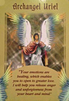 Archangel Uriel - Psychic Tarot