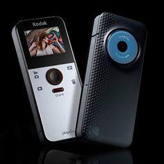 Kodak PlayFull Pocket Camcorder Flip Camera, Video Camera, Paris Design, Tech Gadgets, Consumer Electronics, Technology, Cameras, Fancy, Tecnologia