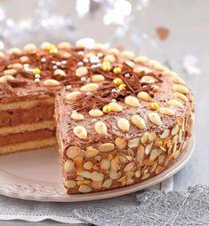 Mandľovo-čokoládová torta | Recepty.sk