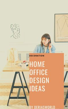 I have a new #homeoffice. I give some tips about that. #decoration #decorationtips Home Office Design, Spin, Change, Decoration, Blog, How To Make, Shopping, Decor, Blogging