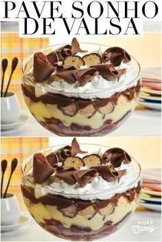 Beautiful and tasty dessert, bet on the dream waltz pave which is very easy to make. CLICK THE PICTURE and see the full recipe. Delicious Cookie Recipes, Sweet Recipes, Dessert Recipes, Pavlova, Ice Cream Recipes, Food 52, Christmas Desserts, Creative Food, Cheesecake