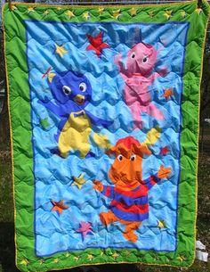 Godzilla Twin Bed Sheet Set Fitted Flat Pillowcase Rare