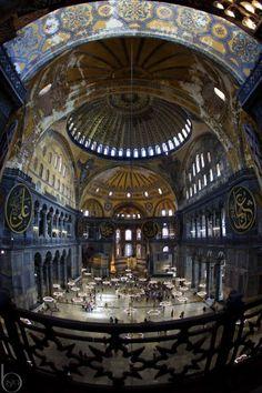 Hagia Sophia (Ayasofya), İstanbul, Turkey.
