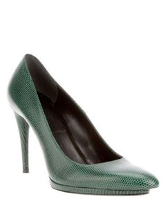 Balenciaga Textured Leather Pump, $449, farfetch.com