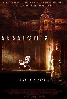 Session 9.  Excellent, effective horror film involving urban exploration at the abandoned Danvers State Mental Hospital (since closed).