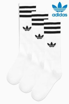 Buy adidas Originals Crew Socks from the Next UK online shop 985bb7f1d