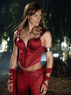 Elektra, as played by Jennifer Garner