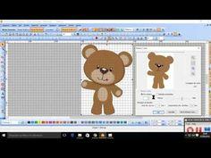 Fazendo bordado automático no wilcom Primeira parte - YouTube