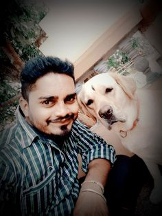 Our participant Ajay Hurude's Photo for the contest with pet. #timeforpet #mypetmyvalentine #Contest #PetLove