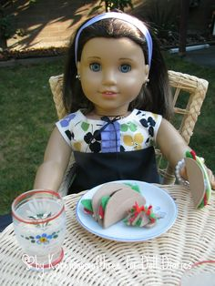 Doll Craft: Make a Taco Dinner for Your Dolls — Doll Diaries