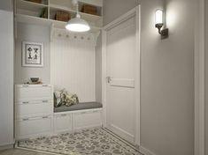 Interior Living Room Design Trends for 2019 - Interior Design Home Entrance Decor, House Entrance, Entryway Decor, Home Decor, Bedroom Decor, Small Apartments, Small Spaces, Hall Furniture, Apartment Design