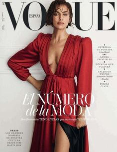 Magazine photos featuring Irina Shayk on the cover. Irina Shayk magazine cover photos, back issues and newstand editions. Vogue Vintage, Capas Vintage Da Vogue, Vintage Vogue Covers, Vogue Editorial, Editorial Fashion, Vogue Magazine Covers, Fashion Magazine Cover, Fashion Cover, Vogue Japan